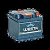Аккумулятор WESTA-(KLEMA) 6СТ-50Ah R+ 480A (EN)