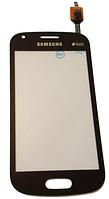 Сенсорний екран (тачскрін) для Samsung S7582 Galaxy S duos 2 Black