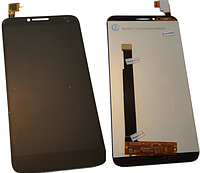 Дисплей для Alcatel One Touch 6037X с сенсорным экраном Black