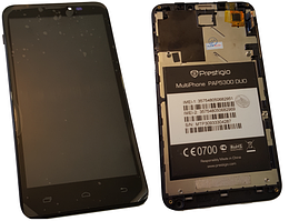 Дисплей (LCD) для Prestigio 5300 з сенсорним екраном Black