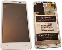Дисплей (LCD) для Prestigio 5300 з сенсорним екраном White