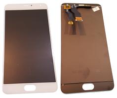 Дисплей для Meizu Metal (M57a) с сенсорным экраном, белый