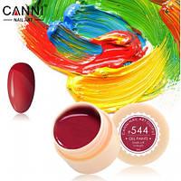 Гель краски и гель лак 2 в 1 Canni, №544
