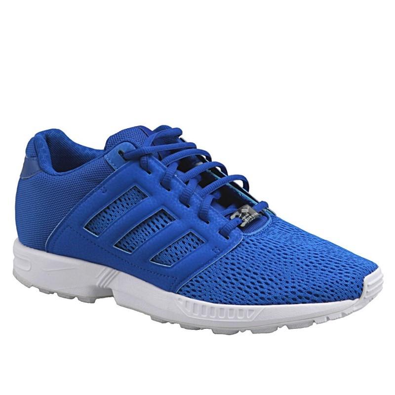 Кроссовки мужские adidas Originals ZX Flux 2.0 M21332 (синие, повседневные, текстильный верх, бренд адидас)