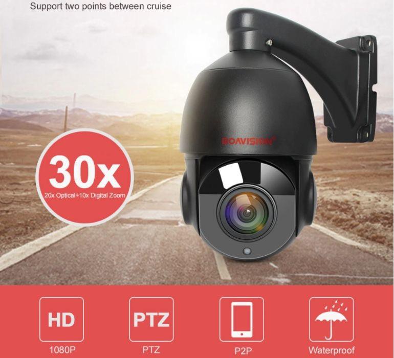Поворотная IP Камера Boavision 30X Black 1080P P2P 2m наружная уличная