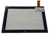Сенсорний екран (тачскрін) для планшета 10,1 дюймів Bravis NB102 (Model: QX20160816 HK10DR2860A1) Black