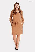 Тёплое платье из ангоры Даббо
