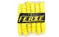 Колпачки пластиковые на гайку 32 Желтые 60шт