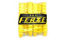Колпачки пластиковые на гайку 32 Желтые 60шт Стрелка