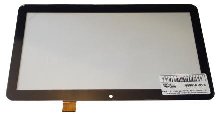 Сенсорний екран (тачскрін) для планшета 10,1 дюймів Nomi C10104 (Model: RP-400A-10.1) Black