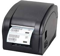 Термопринтер Xprinter XP-360B New для печати этикеток и чеков 2 в 1 10026, КОД: 225891