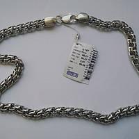 Ланцюжок срібний Цепочка серебрянная Бисмарк вага 65,07 гр.  Ц-15Т чернений розмір 50 см.