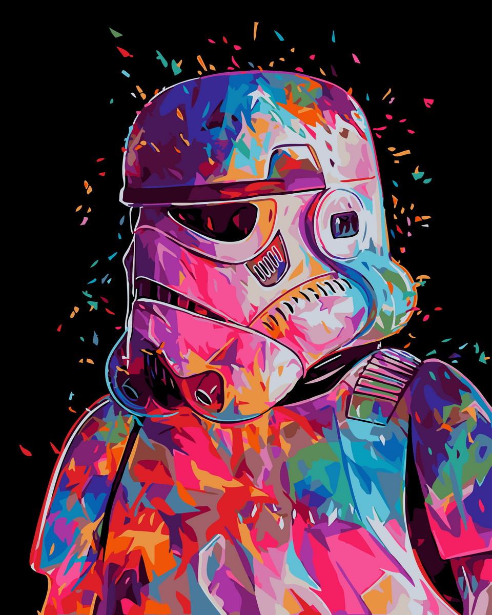 """Картина по номерам """"Штурмовик"""" Rainbow Art"""