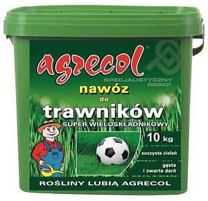 Удобрение Agrecol для газонов SUPER многокомпонентное 9 кг