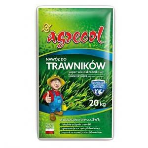 Удобрение Agrecol для газонов SUPER многокомпонентное 20 кг