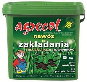 Удобрение Agrecol для газонов укладка и восстановление 5 кг