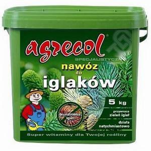 Удобрение Agrecol для хвойных от пожелтения 5 кг