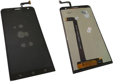 Дисплей для Asus ZE551KL, ZenFone 2 Laser с сенсорным экраном, черный