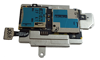 Разъем SIM-карты Samsung i9300 на шлейфе с разъемом MicroSD
