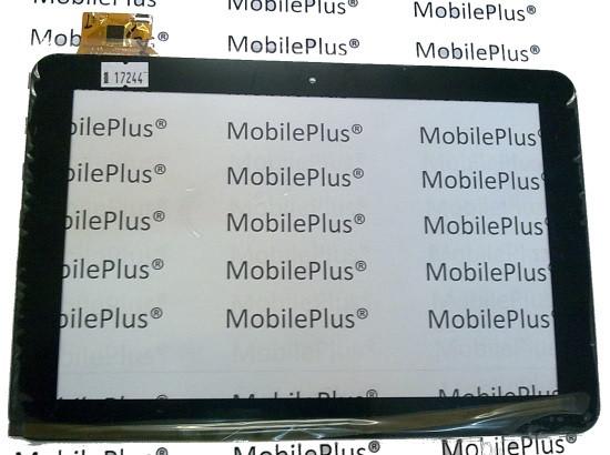 Сенсорный экран (тачскрин) для планшета 10,1 дюймов Freelander PD90 (Model: DPT YTG-10005) Black