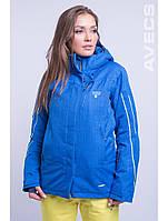 Куртка лыжная женская 8681/11 голубой