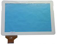 Сенсорный экран (тачскрин) для планшета 10,1 дюймов Pixus Play Five (Model: TPC 51014 V2.0) White