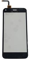 Сенсорний екран (тачскрін) для телефону S-TELL M621, UMI London, Bravis A506, чорний