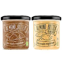Біо натуральна мигдальний крем-паста-200 грам Food Diet