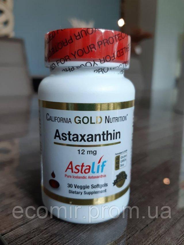 Астаксантин, CGN (12 мг, 30 капсул)