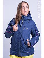 Куртка лыжная женская 8681/23 темно-синий