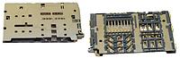 Роз'єм для SIM-карти Samsung A310, A510, A710