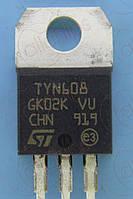 Тиристор 600В 8А ST TYN608RG TO220