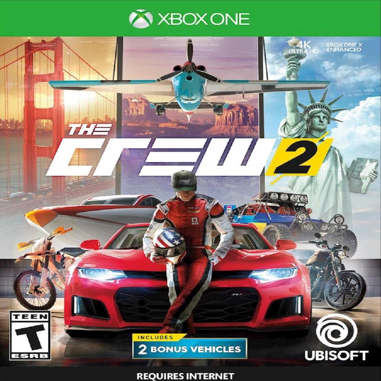 The Crew 2 RUS XBOX ONE (NEW)