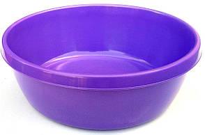 Пластикова Миска 5 літрів кругла (Юнипласт)