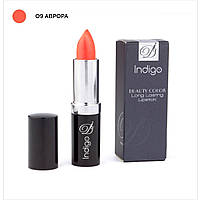 Помада IndigoDi Beauty Color Long Lasting Lipstick 4 г Аврора 0400109, КОД: 1162955