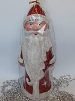 Новогодние украшения под елку Дед Мороз 30*13 см