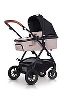 Детская универсальная коляска 2 в 1 EasyGo Optimo Air Sand