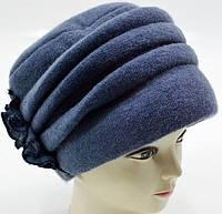 """Шерстяные женские шапки """"Румынка"""" (сиреневый), фото 1"""