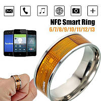 Умное кольцо NFC Smart Ring для Android Windows IOS размер 9, фото 1