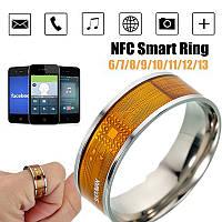 Умное кольцо NFC Smart Ring для Android Windows IOS размер 10, фото 1