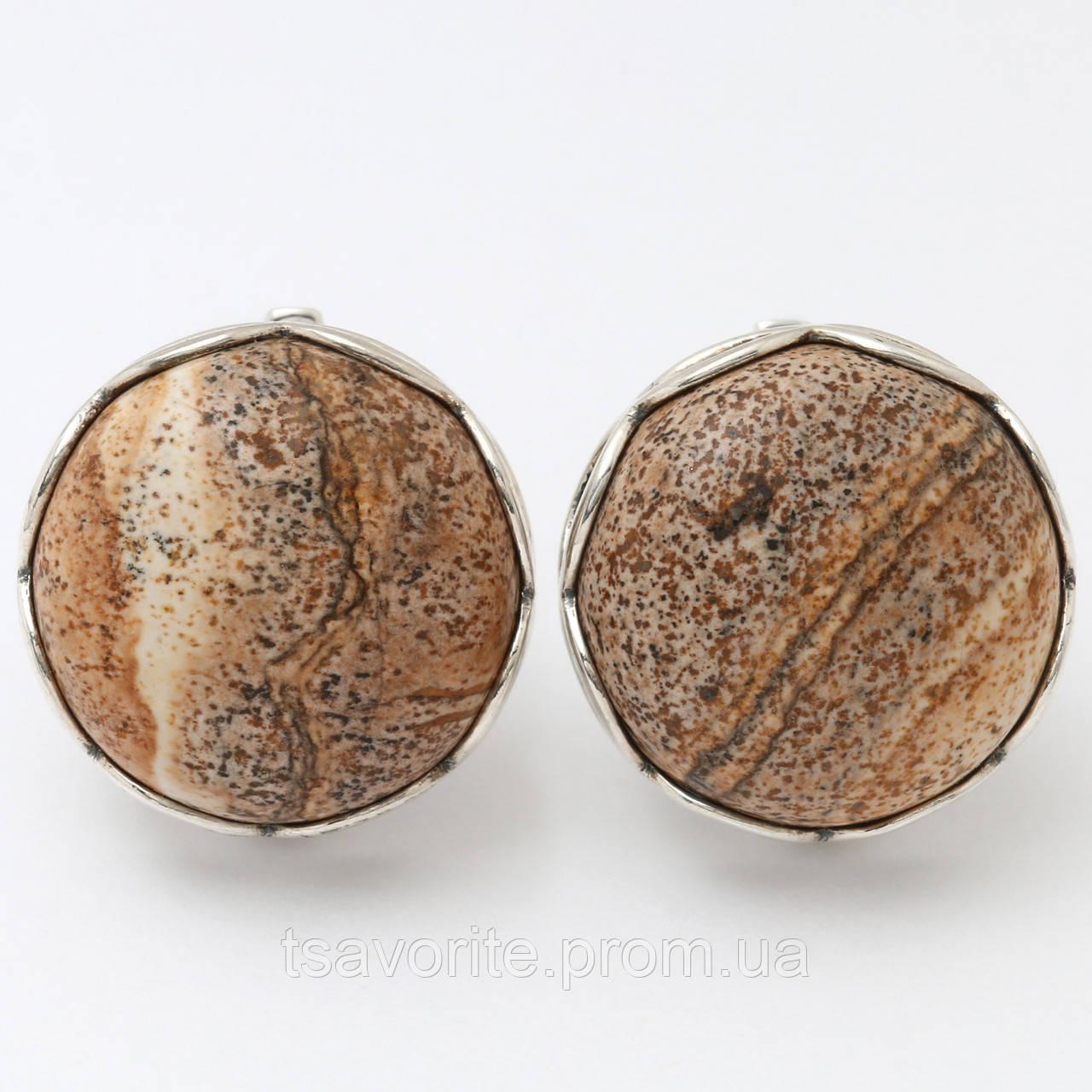 Серебряные серьги 411КН