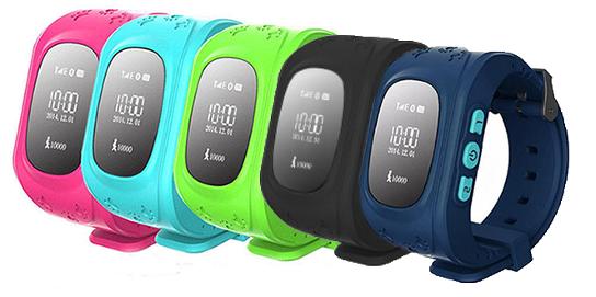 Детские умные часы Smart Baby Watch Q50 с GPS трекером, Разные цвета