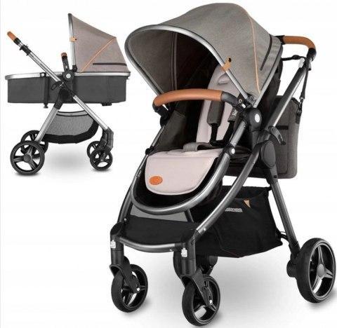 Компактная универсальная коляска для ребенка 2 в 1 Lionelo Greet