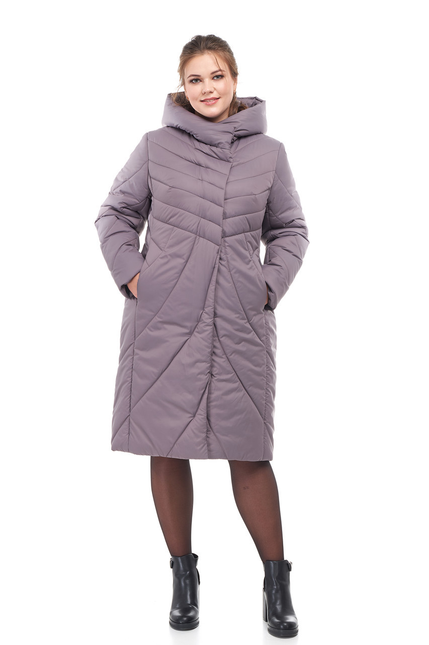 Новинка! Зимнее пальто на синтепухе Даяна размеры 42-54