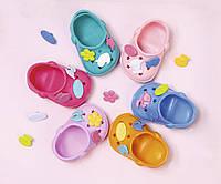 Обувь для куклы пупса  BABY BORN  КРАСОЧНОЕ ЛЕТО 6 цветов в ассортименте Zapf 824597