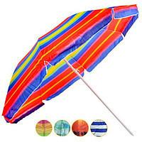 Пляжный зонт с клапаном UMBRELLA super 220 см