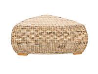 Кофейный столик Cruzo Пеллегрино из натурального ротанга Бежевый PL0006, КОД: 742900