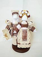 Кукла-мотанка КЛЮЙ Неразлучники Катерина и Иван 25см Разноцветная K0020NKI, КОД: 182772