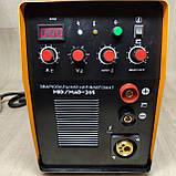 Зварювальний інверторний напівавтомат 2в1 Kaiser MIG-265, фото 4