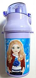 "Бутылка для воды с трубочкой 13005 ""Model"" 550 мл"